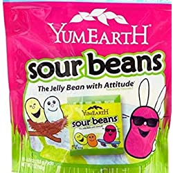 YumEarth Organic Easter Candy Sour Jelly Beans, 7 Ounce