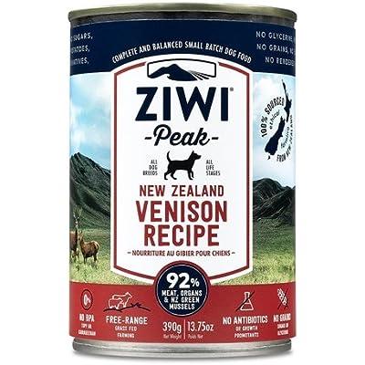ZIWIPEAK Canned Dog Venison 13.75 oz Case 12