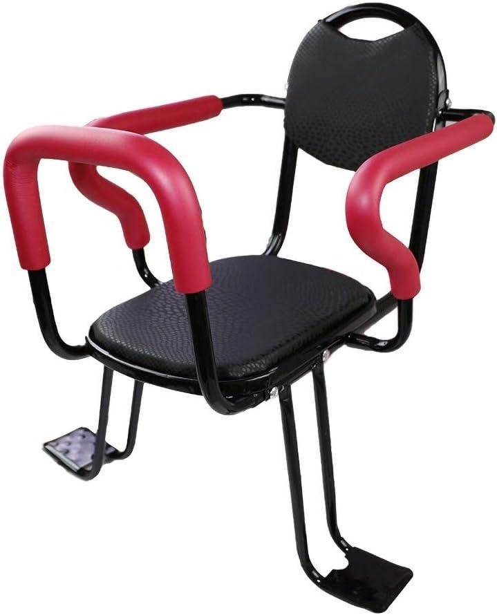 Geeignet F/üR Kinder Von 2-6 Jahren DKZK Fahrrad Kindersitz Abnehmbarer Kindersitz Mit Armlehnenzaun Und Gepolstertem Sitz R/üCksitzkissen F/üR Elektrofahrzeuge