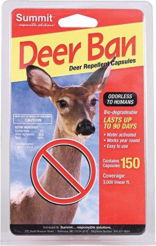 SUMMIT RESPONSIBLE SOLUTN 2002 150 Count Deer Ban Deer Repellent Capsules