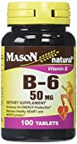 Cheap Mason Vitamins B 6 50 mg Tablets, 100 Count