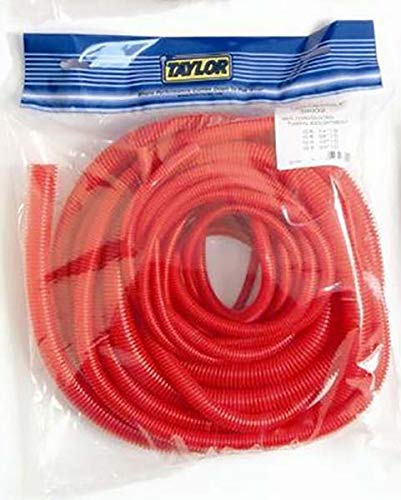 (Taylor Cable 38002 Red Pre-Packaged Convoluted Tubing Assortment)