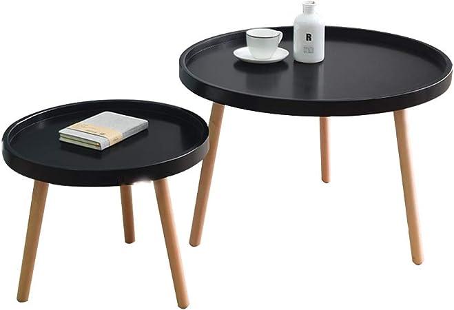 2-er Set tables salon table table de balcon Table basse Table basse desserte