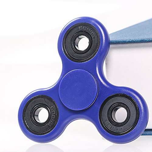 Amazon.com: Fidget Spinner, AmyHomie Hand Spinner, Tri-Spinner Fidget Toys  for Adults and Kids (Blue): Toys & Games
