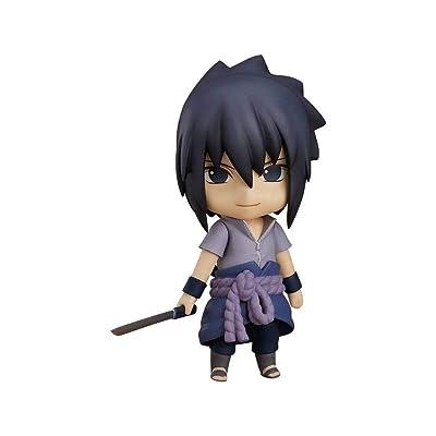 Good Smile Naruto Shippuden Sasuke Uchiha Nendoroid Action Figure: Toys & Games
