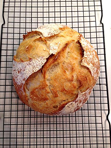Bread Banneton 1kg (Rounde 8.6 x 3.5 inches) Willow Proofing Basket Best Bakery Themed Gifts for Women with Linen Liner Covers by My little bakery (Image #5)