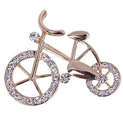 YAZILIND Women Unique Design Bicycle Pins Brooch