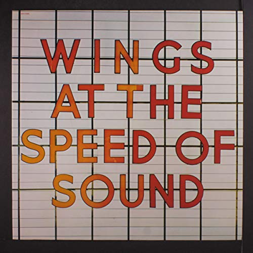 PAUL MCCARTNEY & WINGS: at the speed of sound CAPITOL LP (1 Speed Wing)
