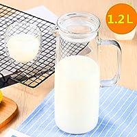 Cosy-YcY jarra de vidrio para hacer té helado