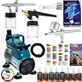 Best Master Airbrush Airbrush Makeup Kits - Complete Professional Master Airbrush Multi-Purpose Airbrushing System Review