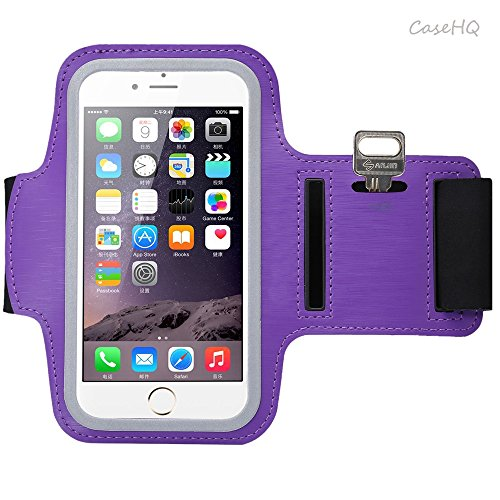 Universal Sports Armband for Apple iPhone 7/7 Plus iPhone 6/6s Plus Samsung Galaxy S7/S6/S5 Sweatproof Running ArmBelt With Small Holder & Pouch for Keys Card 4.5 inch- 5.7 inch Screen (Polar Loop Best Price)