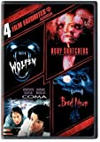 4 Film Favorites: Horror (Bad Moon, Body Snatchers, Coma, Wolfen) by Warner Home Video by Michael Wadleigh, Eric Reed, Abel Ferrera Michael Crichton