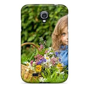 New Tpu Hard Case Premium Galaxy S4 Skin Case Cover(little Lady)