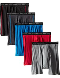 Hanes Men's Sports-Inspired Boxer-Brief (Pack of Five Pairs)