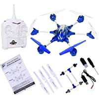 K&A Company W609-10 4.5CH 2.4G Remote Control RTF Hexacopter with HD Camera New 12.6 x 11.0 x 4.5 3.7 V, 650 mAh Blue