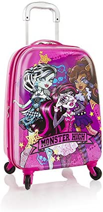 Heys Monster High Tween Spinner Luggage 21 Case Expandable Carry On Approved