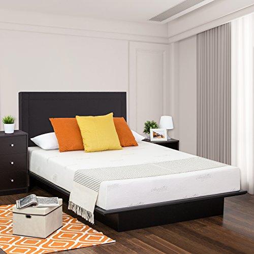 Furinno Angeland Luxury 12-Inch Gel Infused Memory Foam Mattress, Queen,