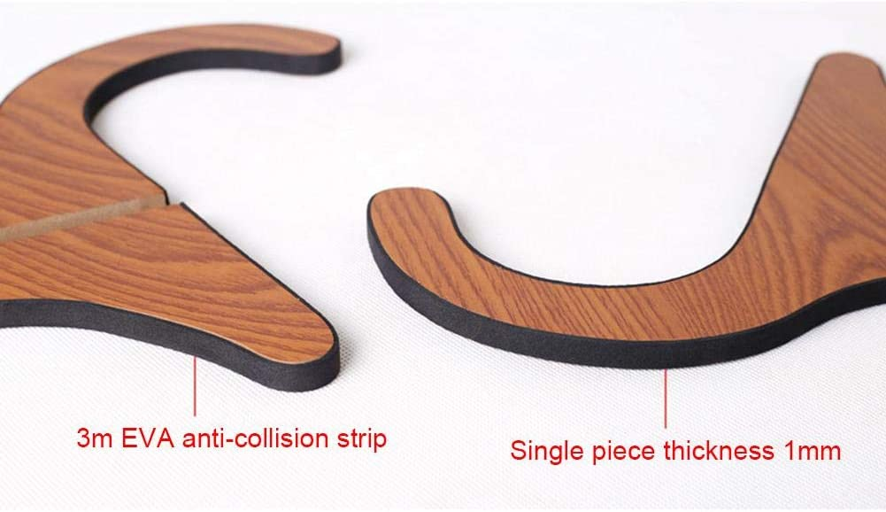 Keruite 2pcs Y Shaped Wooden Ukulele Stand,Detachable and Assemble Prop Stand for Stringed Instruments