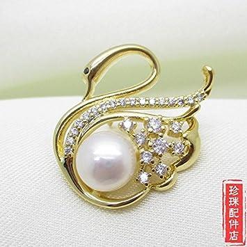 Amazon.com: Modelos de cisne perla accesorios traje collar ...