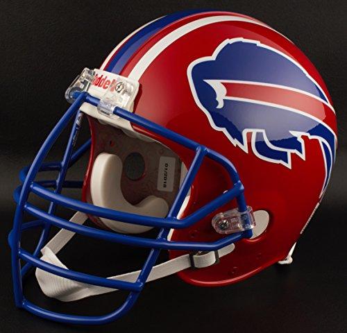 Riddell Buffalo Bills 1984-1986 NFL Replica Throwback Football Helmet w/NJOP Facemask