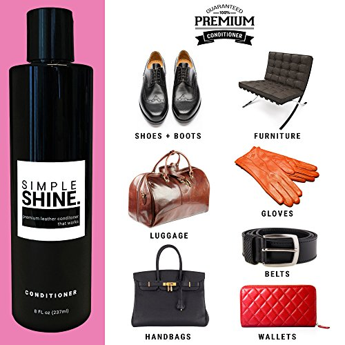 Premium Leather Conditioner | No Stain Restore, Protect & Condition Shoes, Boots, Bags & Furniture by Simple Shine (Image #2)