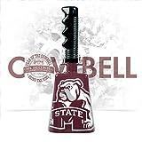 Oversized Bulldog MState Logo Cowbell