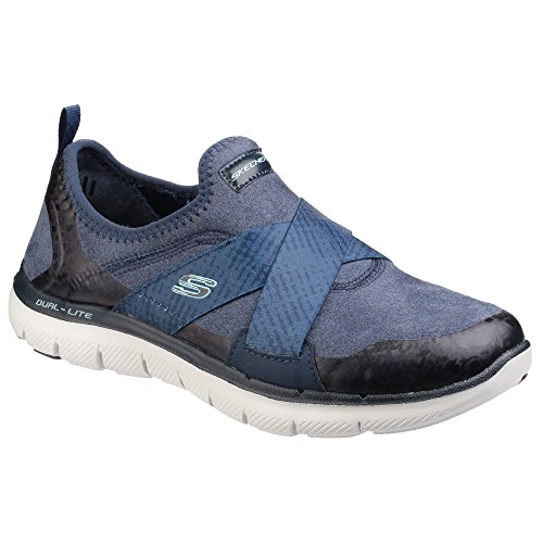 Marine Sk12619 Femme Flex Appeal Sketchers 0 2 Baskets Bleu qwvfYY8X