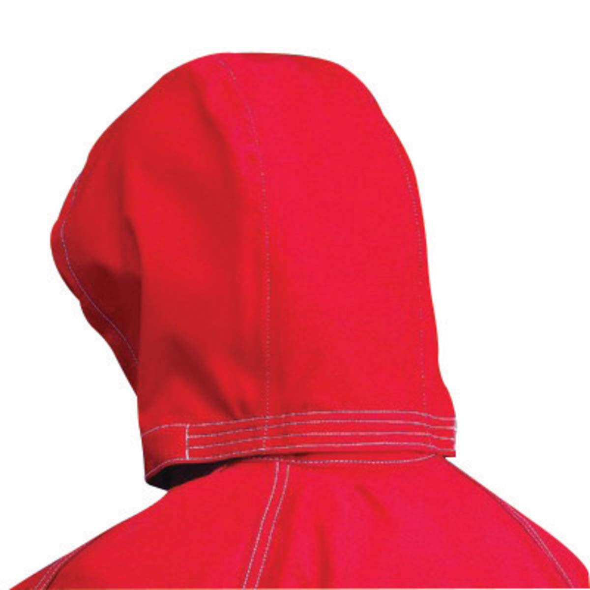 Ansell One Size Fits All Red Sawyer-Tower CPC Polyester Trilaminate Gore Fabric 3-Piece Chemical Splash Protection Hood