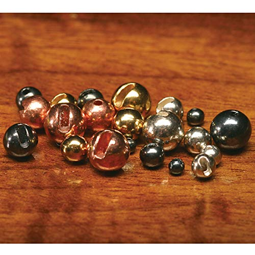 Hareline Slotted Tungsten Beads 1/8
