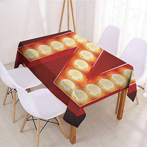 ScottDecor Christmas Tablecloth Table Cover W 50