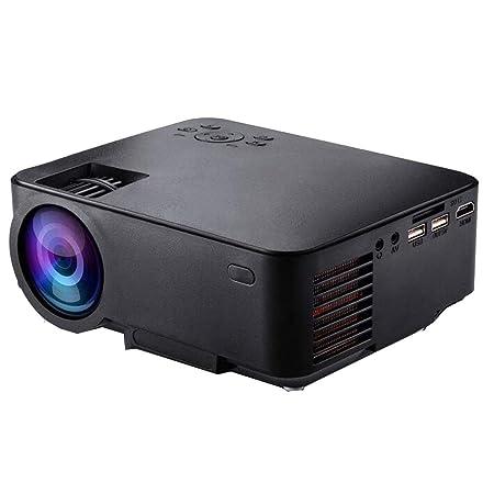RU Proyector Mini proyector portátil, Conexión WiFi,LED 1080p ...