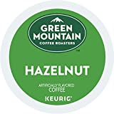 Green Mountain Coffee, Hazelnut, Single-Serve Keurig K-Cup Pods, Light Roast Coffee, 96 Count (4 Boxes of 24 Pods)