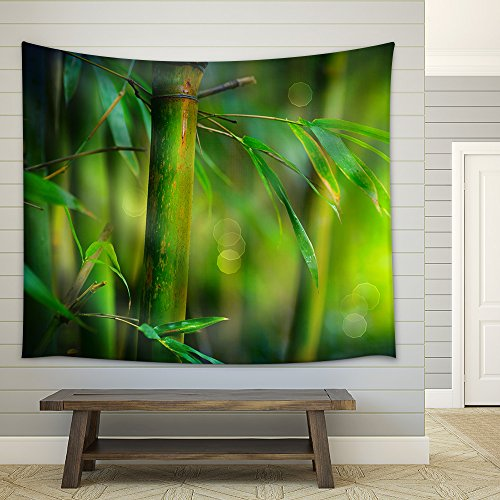 Bamboo Fabric Wall Tapestry
