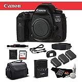 Canon EOS 5D Mark IV Full Frame Digital SLR Camera Body Bundle 32GB, Extra Batteries, More International Version