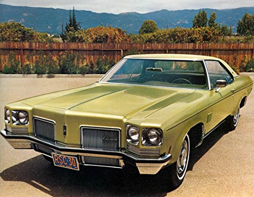 Oldsmobile Delta Royale (1972 Oldsmobile Delta Royale Coupe Factory Photo)