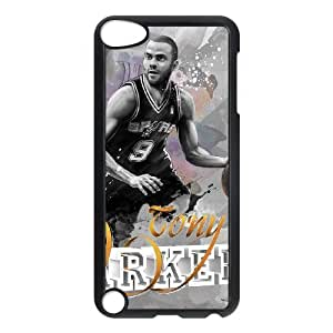 Ipod Touch 5 2D DIY Hard Back Durable Phone Case with Tony Parker Image