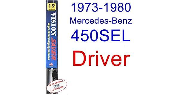 Amazon.com: 1973-1980 Mercedes-Benz 450SEL Wiper Blade (Driver) (Saver Automotive Products-Vision Saver) (1974,1975,1976,1977,1978,1979): Automotive