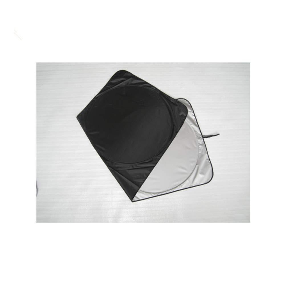 Parasol Visera Solar para Autom/óvil Hasta Un 50/% Lujoso Bloqueador Solar para Autom/óvil 210T Parabrisas 98/% Uv Plegable Visera Solar Protector para Veh/ículos KSELL 150 * 72cm