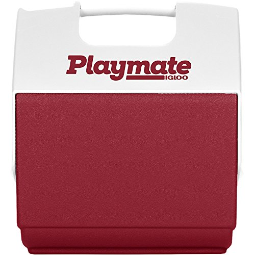 Igloo Playmate Pal 7 Quart Personal Sized Cooler (Red/White, 11.75 x 8.25 x 12-Inch)