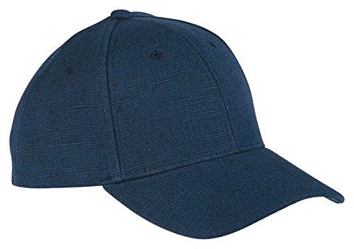 Blue Hemp Hat - ECON HEMP BASEBALL CAP (NAVY) (OS)