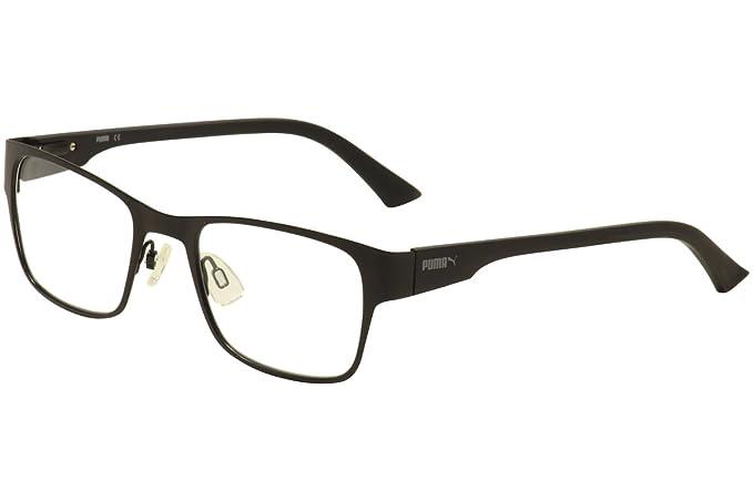 Amazon.com: Puma PU0032O Mens Eyeglass Frames - Black: Sports & Outdoors