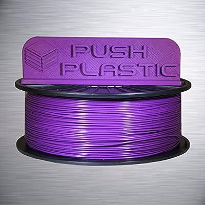 Push Plastic 1.75mm Purple PLA 3D printer filament 1kg (2.2 lbs)