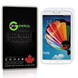 """CitiGeeks® 3x Crystal Clear HD Premium Screen Protector for Samsung GALAXY Tab 3 8"""" / 8 inch SM-T310 WiFi with Lifetime Replacement Warranty. Invisible Protection - Pack of 3 in CitiGeeks® Retail Package."""