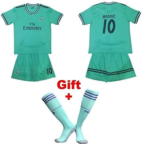 HS-FWJ.HW Luka Modric NO.10 Real Madrid Club De Fútbol Ropa ...