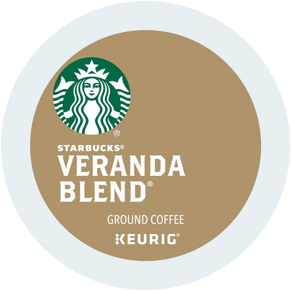 Starbucks Coffee Veranda blend single serve capsules for Keurig K-Cup pod brewers (96 Count)