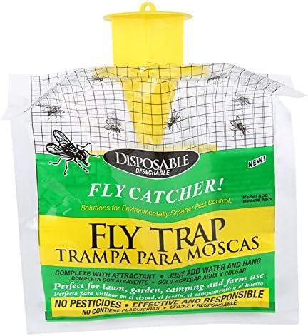 Desconocido Trampa Colgante para Moscas, Bolsa atrayente para atrapar Moscas, útil para el Aire Libre y el jardín, Productos de Control de plagas Desechables TT: Amazon.es: Jardín