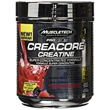 MuscleTech pro series creacore creatine powder, fruit punch, 120 servings