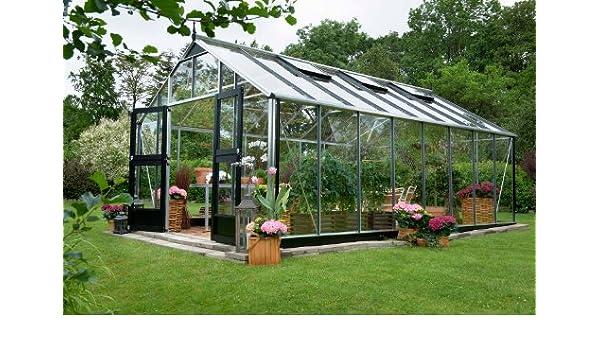 Juliana Invernadero Gärtner 16.2 aluminio cristal de seguridad: Amazon.es: Jardín