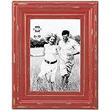prinz carson wood frame 8 x 10 red
