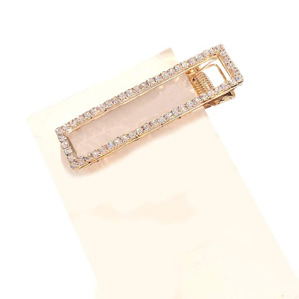 FarJing Hairpin Accessory for Girls Women, Fashion Pearl Diamond Hair Clip Pin Hairband Hairpin Barrette Comb Accessory(Multicolor 21)